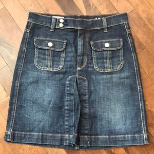 GAP Jeans Skirt Size 27